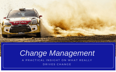 What Really Drives Change Management? – A Practical Insight